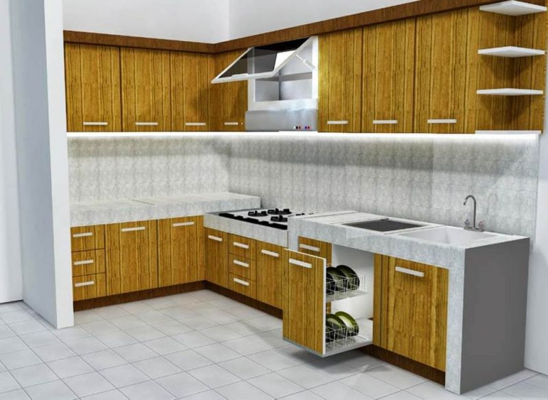 harga kitchen set minimalis 2015