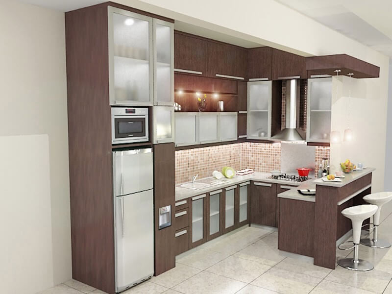 Fotorumahidaman Kitchen Set Sederhana