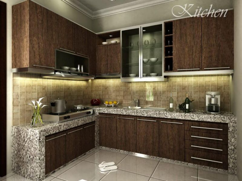 harga kitchen set minimalis